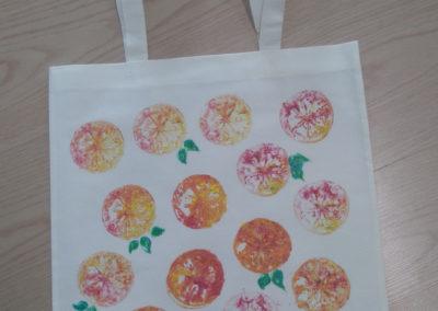 torby pomarańcze